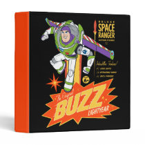 Toy Story 4 | Buzz Lightyear Action Figure Ad 3 Ring Binder