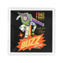 Toy Story 4 | Buzz Lightyear Action Figure Ad Acrylic Tray
