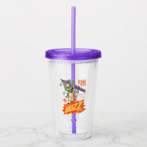 Toy Story 4 | Buzz Lightyear Action Figure Ad Acrylic Tumbler