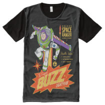 Toy Story 4 | Buzz Lightyear Action Figure Ad All-Over-Print T-Shirt
