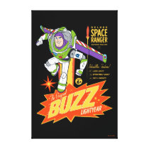 Toy Story 4 | Buzz Lightyear Action Figure Ad Canvas Print