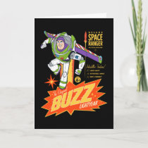 Toy Story 4 | Buzz Lightyear Action Figure Ad Card