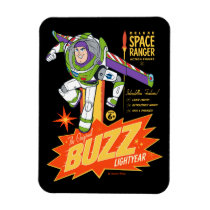 Toy Story 4 | Buzz Lightyear Action Figure Ad Magnet