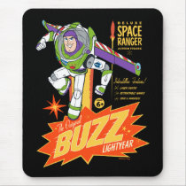 Toy Story 4 | Buzz Lightyear Action Figure Ad Mouse Pad