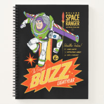 Toy Story 4 | Buzz Lightyear Action Figure Ad Notebook