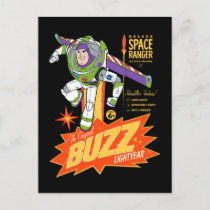 Toy Story 4   Buzz Lightyear Action Figure Ad Postcard