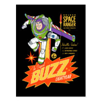 Toy Story 4 | Buzz Lightyear Action Figure Ad Postcard