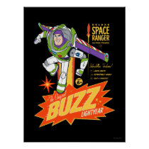 Toy Story 4 | Buzz Lightyear Action Figure Ad Poster