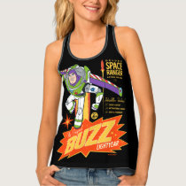 Toy Story 4 | Buzz Lightyear Action Figure Ad Tank Top