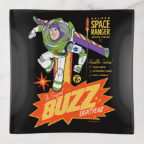 Toy Story 4   Buzz Lightyear Action Figure Ad Trinket Tray