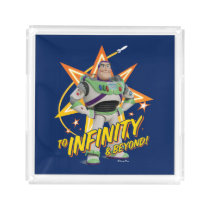 "Toy Story 4 | Buzz ""To Infinity & Beyond"" Stars Acrylic Tray"