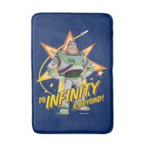 "Toy Story 4 | Buzz ""To Infinity & Beyond"" Stars Bath Mat"