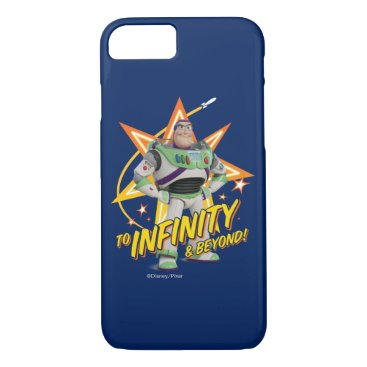 """Toy Story 4   Buzz """"To Infinity & Beyond"""" Stars iPhone 8/7 Case"""