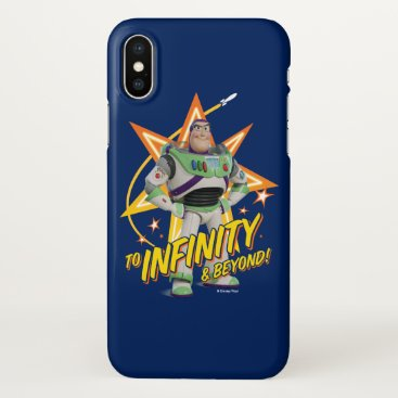 """Toy Story 4   Buzz """"To Infinity & Beyond"""" Stars iPhone X Case"""