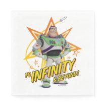 "Toy Story 4 | Buzz ""To Infinity & Beyond"" Stars Napkins"