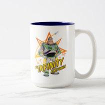 "Toy Story 4 | Buzz ""To Infinity & Beyond"" Stars Two-Tone Coffee Mug"