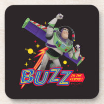 Toy Story 4 | Buzz To The Rescue! Beverage Coaster
