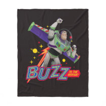 Toy Story 4 | Buzz To The Rescue! Fleece Blanket
