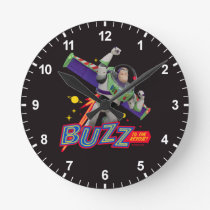 Toy Story 4 | Buzz To The Rescue! Round Clock