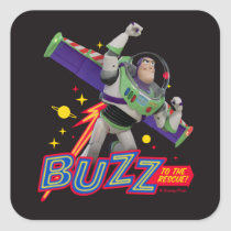Toy Story 4 | Buzz To The Rescue! Square Sticker