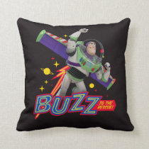 Toy Story 4 | Buzz To The Rescue! Throw Pillow