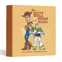 "Toy Story 4 | Buzz & Woody ""Dynamic Duo"" 3 Ring Binder"