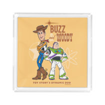 "Toy Story 4 | Buzz & Woody ""Dynamic Duo"" Acrylic Tray"