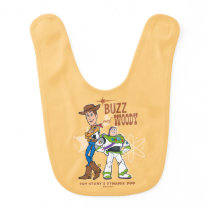 "Toy Story 4 | Buzz & Woody ""Dynamic Duo"" Baby Bib"