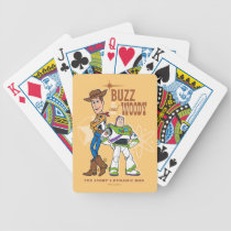 "Toy Story 4 | Buzz & Woody ""Dynamic Duo"" Bicycle Playing Cards"