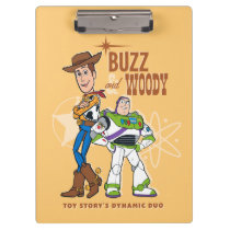 "Toy Story 4 | Buzz & Woody ""Dynamic Duo"" Clipboard"