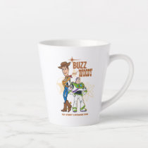 "Toy Story 4 | Buzz & Woody ""Dynamic Duo"" Latte Mug"