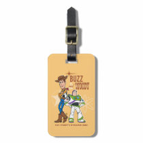 "Toy Story 4 | Buzz & Woody ""Dynamic Duo"" Luggage Tag"
