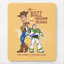 "Toy Story 4 | Buzz & Woody ""Dynamic Duo"" Mouse Pad"
