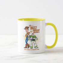 "Toy Story 4 | Buzz & Woody ""Dynamic Duo"" Mug"