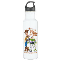 "Toy Story 4 | Buzz & Woody ""Dynamic Duo"" Stainless Steel Water Bottle"