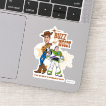 "Toy Story 4 | Buzz & Woody ""Dynamic Duo"" Sticker"