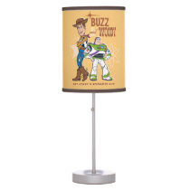"Toy Story 4 | Buzz & Woody ""Dynamic Duo"" Table Lamp"