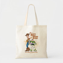 "Toy Story 4 | Buzz & Woody ""Dynamic Duo"" Tote Bag"