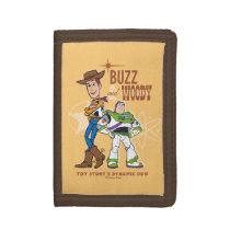 "Toy Story 4 | Buzz & Woody ""Dynamic Duo"" Trifold Wallet"