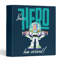 "Toy Story 4 | Buzz ""Your Hero Has Arrived"" 3 Ring Binder"