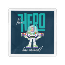 "Toy Story 4 | Buzz ""Your Hero Has Arrived"" Acrylic Tray"