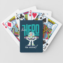 "Toy Story 4 | Buzz ""Your Hero Has Arrived"" Bicycle Playing Cards"