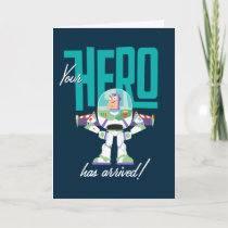 """Toy Story 4   Buzz """"Your Hero Has Arrived"""" Card"""