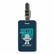 "Toy Story 4 | Buzz ""Your Hero Has Arrived"" Luggage Tag"