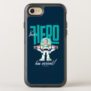 """Toy Story 4   Buzz """"Your Hero Has Arrived"""" OtterBox Symmetry iPhone 8/7 Case"""