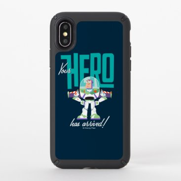 """Toy Story 4   Buzz """"Your Hero Has Arrived"""" Speck iPhone X Case"""