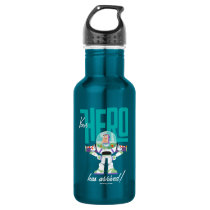 "Toy Story 4 | Buzz ""Your Hero Has Arrived"" Stainless Steel Water Bottle"