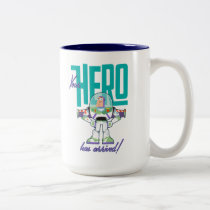 "Toy Story 4 | Buzz ""Your Hero Has Arrived"" Two-Tone Coffee Mug"