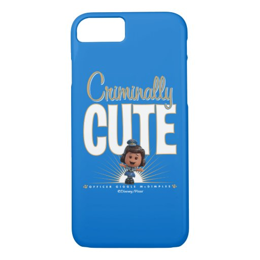 "Toy Story 4 | ""Criminally Cute"" Giggle McDimples iPhone 8/7 Case"