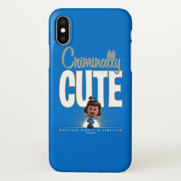 "Toy Story 4 | ""Criminally Cute"" Giggle McDimples iPhone X Case"
